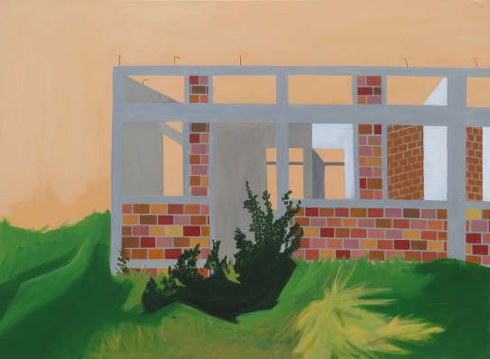 House, 75×100 cm, acrylicc, canvas