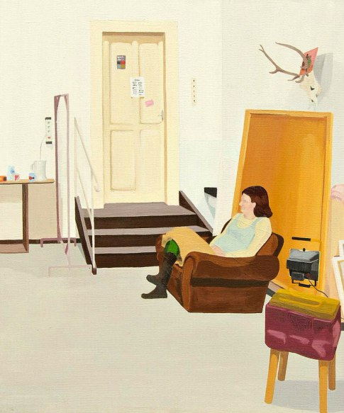 Olga - 60×50 cm - oil and canvas - 2012