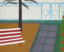 Velencefürdő I. - 25×30 c - oil and canvas - 2012